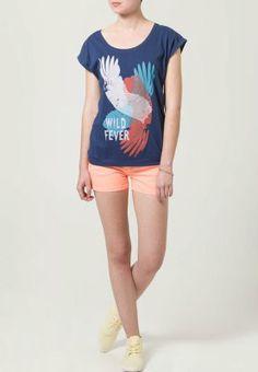 Even&Odd T-shirt print - Blauw