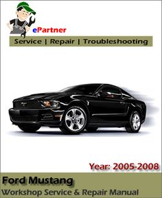 download ford freestar service repair manual 2005 2007 ford rh pinterest com 2005 Mustang Owners Manual PDF service manual mustang 2005