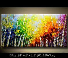 Contemporáneo Arte de la pared pintura textura moderna
