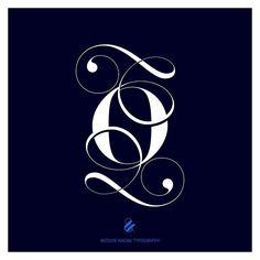 It looks better on Blue ;)) Lingerie Typeface alternate o. Blue Lingerie, Script Type, Typography, Symbols, Letters, Instagram Posts, Letterpress, Letterpress Printing, Letter