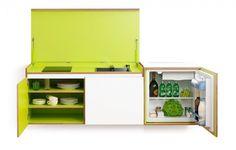 Minuscule keuken voor kleiner behuisden   | roomed.nl