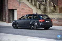 Everyone has the fancy sports car for their dream car. Mine is a station wagon. A fast wagon, but it's still a wagon. Audi RS4 Avant. :drool: