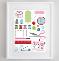 Free Printable for Crafters; Craft Room Decor by Atypical Type A, featured @printabledecor1