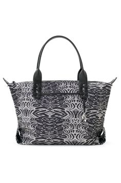 Stella & Dot How Does She Do It | Black & White Painted Zebra I'm currently toting this and plan to take it into Fall. Black & White matches everything. Can't go wrong!