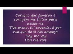 Juanes Hoy Me Voy con paula fernandes letra - YouTube