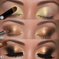 Eye Make-up Steps