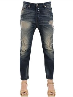 DIESEL - EAZEE RELAXED BOYFRIEND DENIM JEANS - LUISAVIAROMA - LUXURY SHOPPING WORLDWIDE SHIPPING - FLORENCE