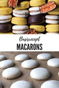 Macarons, Macaron Sweet, Almond Flour Desserts, Dessert Names, Bakers Gonna Bake, Bakery Recipes, Pavlova, Cakes And More, Let Them Eat Cake