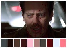 Fargo, Joel y Ethan Coen. (1996) | 29 Escenas iconicas de películas reducidas a una paleta de color