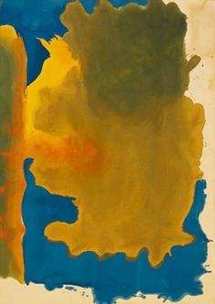 """julialukedesign: """" Helen Frankenthaler. Canal, 1963. Acrylic on canvas, 81 x 57 1/2 inches (205.7 x 146 cm). Solomon R. Guggenheim Museum, New York, Purchased with the aid of funds from the National..."""