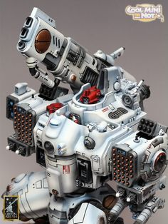 The Internet's largest gallery of painted miniatures, with a large repository of how-to articles on miniature painting Tau Battlesuit, Tau Warhammer, Fire Warrior, Tau Empire, Storm Surge, Warhammer 40k Miniatures, Awards 2017, Armor Concept, Knives
