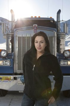 Maya From Ice Road Truckers | Beach bumming it .....