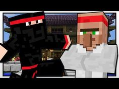 Minecraft | NINJA ACADEMY | Custom Mod Adventure - YouTube