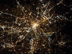 For Martin Luther King, Jr. Day, here's a photo from the International Space Station of Atlanta, where Dr. King, who inspired us to dream, was born.