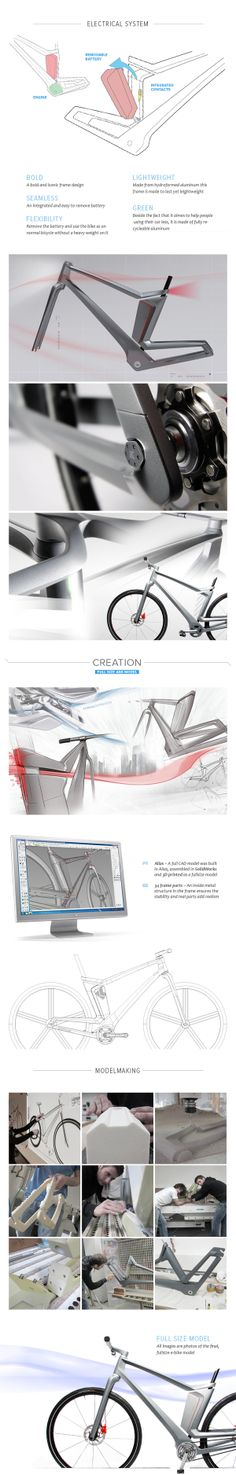 KETTLER e-Bike eMotion Concept by Stefan Reichert, via Behance