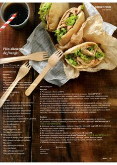 Revista Bimby Maio 2015 I Companion, Good Food, Yummy Food, Happy Foods, What To Cook, Food Inspiration, Sandwiches, Goodies, Food And Drink