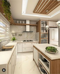 Contemporary Kitchen Design (Benefits and Types of Kitchen Style) Kitchen Room Design, Home Decor Kitchen, Interior Design Kitchen, Room Kitchen, Kitchen Furniture, Contemporary Kitchen Design, New Kitchen Cabinets, Kitchen Remodel, House