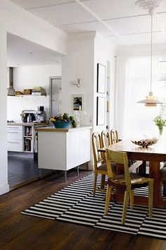 Open plan Durchbruch Küche Esszimmer