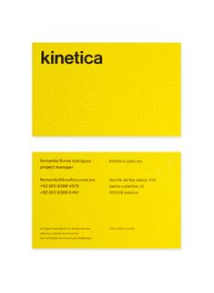 Kinetica — Design by Face.