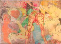dasha shishkin | DASHA SHISHKINDedication To Life Among People, 2007Acrylic and pastel ...