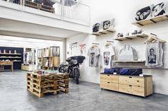 Oddfish store by Maia Aoun, Beirut store design