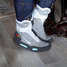 471444a541be Amazon.com  Handmade Crochet Knitted Home Men s Women s Custom Slippers
