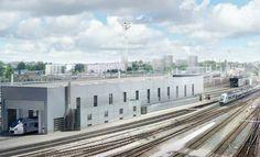 Le centre de maintenance des TER Aquitaine se modernise