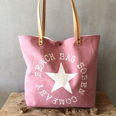 "Image of Beach bag rose ""Take me to the ocean"""