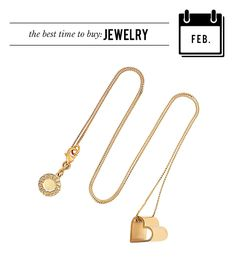 @Who What Wear - February: Jewelry  Whether or not you have a special someone on Valentine's Day, you can still make off like a bandit thanks to the jewelry promotions pegged to the holiday.  Stella McCartney Gold-Tone Heart Pendant Necklace ($400)