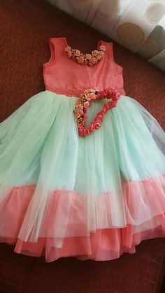 Whatsapp on 9496803123 to customise handwork and cutwork Baby Girl Party Dresses, Dresses Kids Girl, Birthday Dresses, Girl Outfits, Baby Girl Dress Patterns, Baby Dress Design, Frock Design, Frock Patterns, Kids Dress Wear