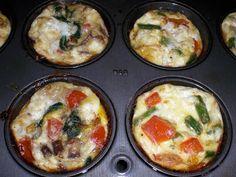 Mini+(Mostly)+Egg+White+Frittatas
