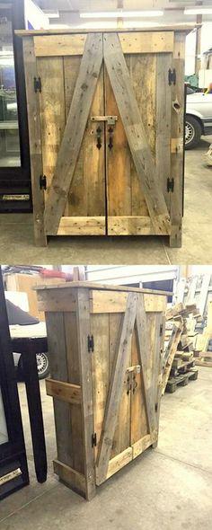 Stylish Wooden Pallets Safe Ideas