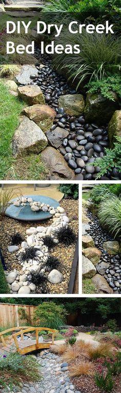 DIY Dry Creek Bed Ideas