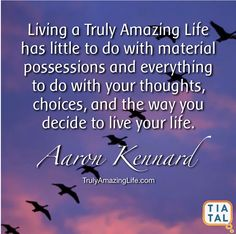 The A to Z of a Truly Amazing Life