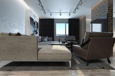 Дизайн интерьера в стиле западного лофта