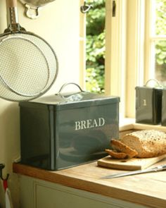 Bread Bin - traditional - food containers and storage - Garden Trading