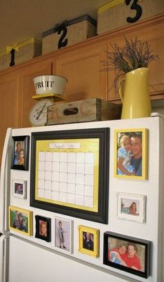 Picture frame for Dollar Store Crafts | Cool and Easy DIY Projects For The Home and More by Pioneer Settler at http://pioneersettler.com/dollar-store-crafts/