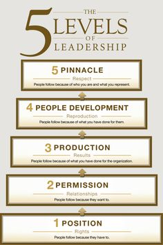 How is your leadership style impacting your team? 5 levels of leadership development #leadership