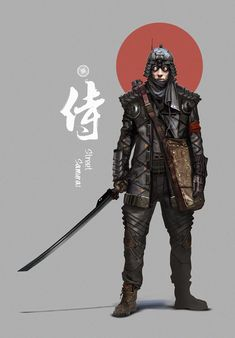 Street Samurai by nkabuto on deviantART