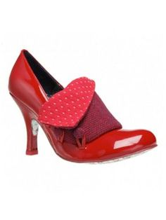 Irregular Choice Flick Flack Shoes Red - House of Fraser