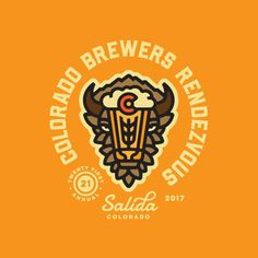 Colorado Brewers Rendezvous 2017 Logo by Jared Jacob