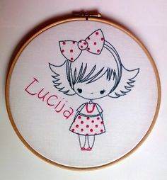 RedWorkStitches: How to use embroidery in everyday life?