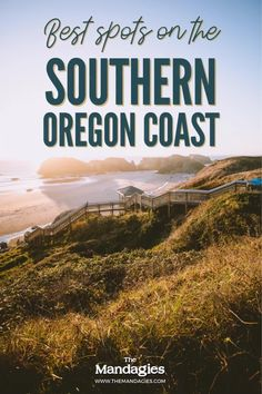 Discover all the amazing things to see on the Southern Oregon Coast. From Samuel H Boardman to Coos Bay, we're covering all the best stops and exactly where to find beautiful Pacific Northwest destinations #oregoncoast #oregon Highway Road, Pacific Coast Highway, Pacific Ocean, Southern Oregon Coast, Coos Bay, Cannon Beach, Pacific Northwest, La Push Beach, Cape Kiwanda