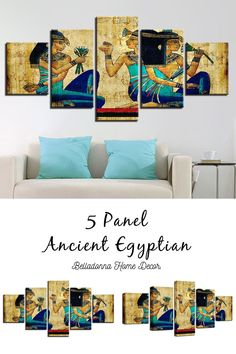Style: ModernMaterial: CanvasType: Canvas PrintingShape: IrregularFrame: With Frame Wall Canvas, Canvas Prints, Art Prints, Wall Art, Frame Sizes, Modern Materials, Egyptian, Gallery Wall, Wall Decor