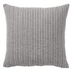 Pottery Barn Honeycomb Pillow Cover ($30) ❤ liked on Polyvore featuring home, home decor, throw pillows, pottery barn, cotton throw pillows, textured throw pillows and pottery barn throw pillows