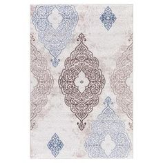 Shop for Persian Rugs Modern Oriental Multicolor with Blue Area Rug (7'11 x 9'10). Get free shipping at Overstock.com - Your Online Home Decor Outlet Store! Get 5% in rewards with Club O!