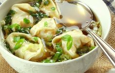 For a light, delicious comfort food of Asian dumplings in a chicken-flavored broth that will soothe your insides, try this wonton soup that will deliver. It's a simple recipe that takes only 5 minutes to prepare, cook and ready on your table for you to dive right in!