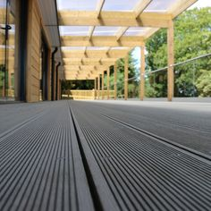 SAiGE's Longlife Composite Decking is a low maintenance, durable alternative to timber decking that is child friendly and ideal for families. Suitable for: Patio areas, around pools, hot tubs and on balconies Outdoor private and commercial use Decking Planks, Wpc Decking, Hardwood Decking, Timber Deck, Composite Decking, Trex Decking, Decking Boards, Decking Ideas, Patio Ideas