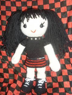 Abby from NCIS (with pattern) - CROCHET