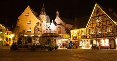 Weihnachtsmarkt Centre village, 68420, Eguisheim, FRANCE